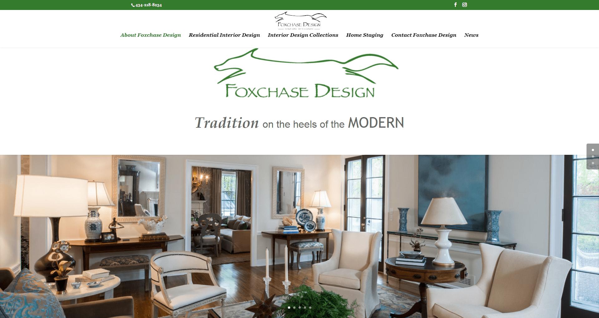 Foxchase Designs, LLC Website